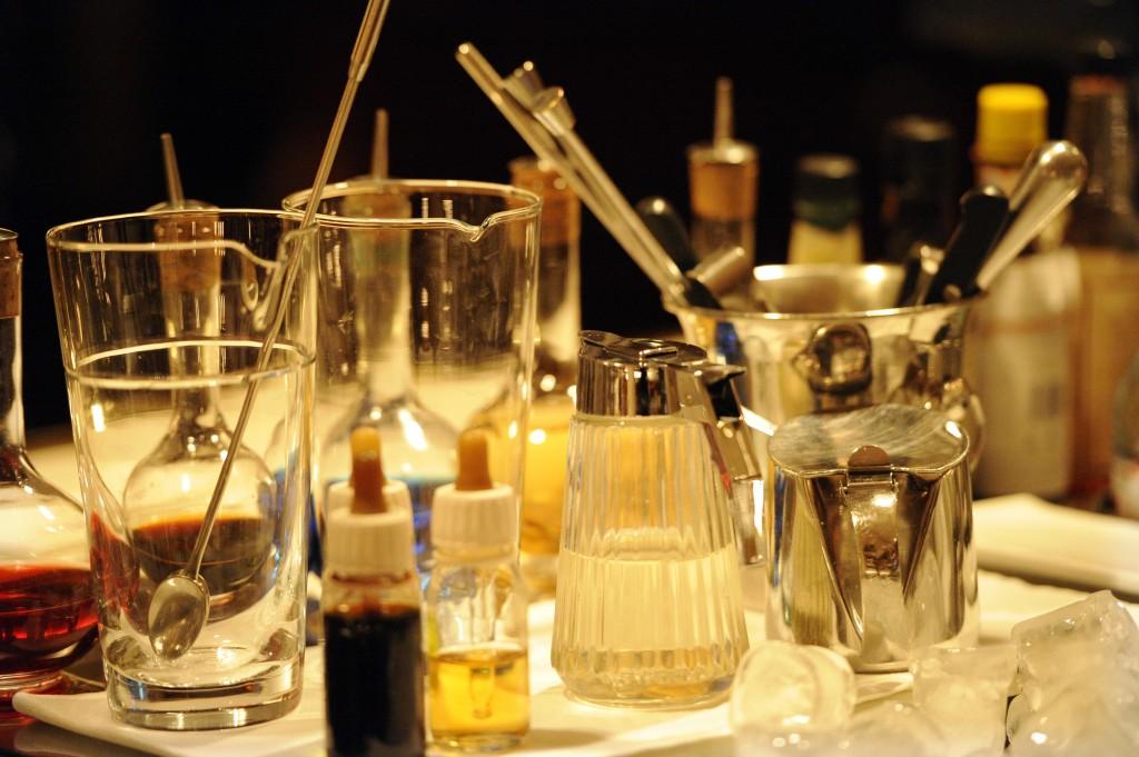 Mezcladores para cocktails y demás utensilios de Milano Cocktail-Bar