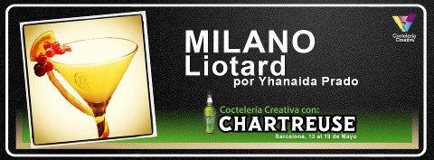 Liotard, uno de los cocktails de película de Yanaida Prado a base de Chartreuse