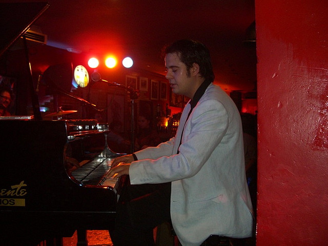 "David ""Boogie"" Giorcelli pianista"