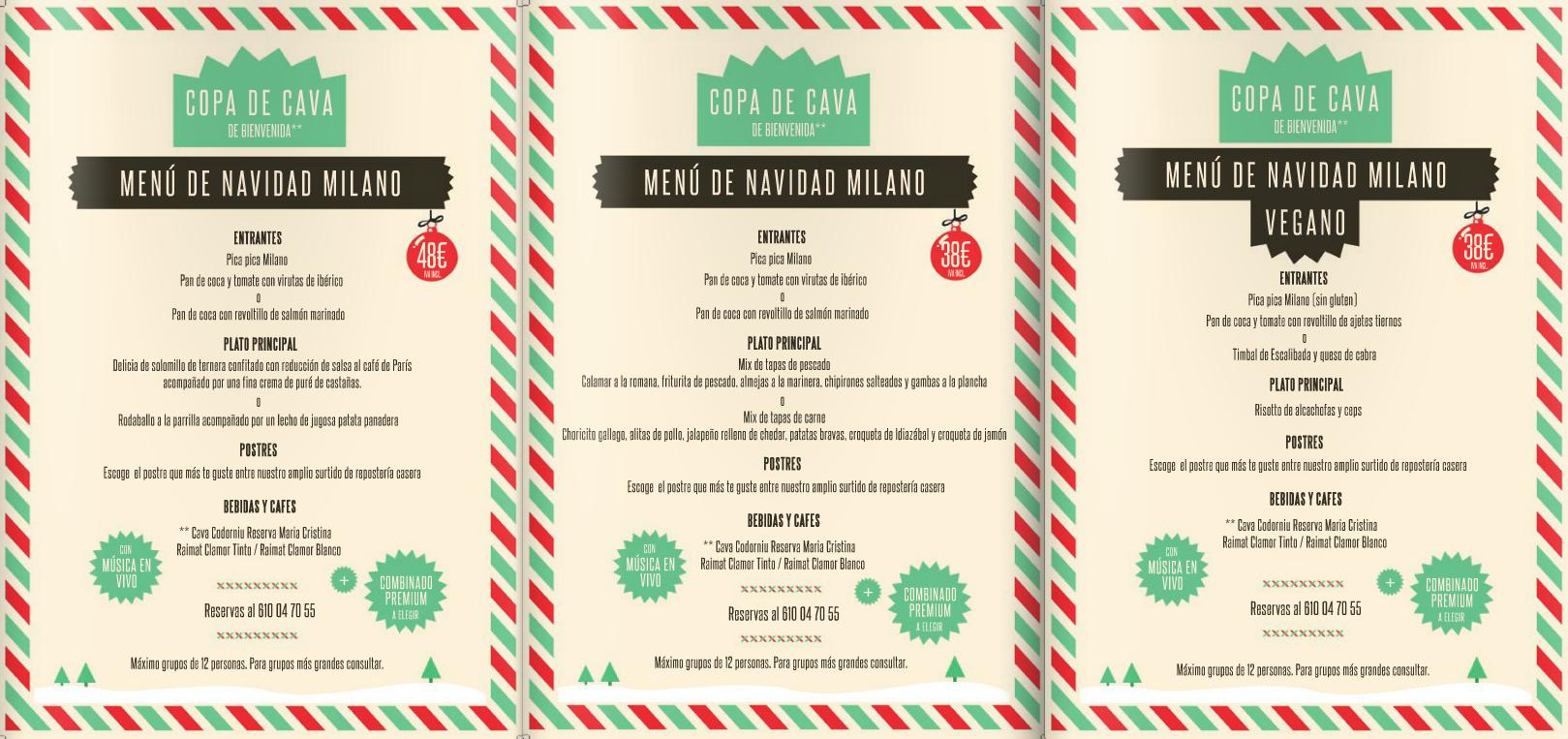 Cenas de navidad para grupos y empresas for Menu de cenas