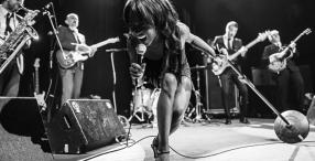 Blues, r'n'r, funk, soul... los géneros de la mejor música negra confluyen en esta banda encabezada por la gran Koko Jean Davis